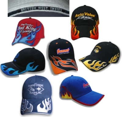Auto Racing  Pens on Racing Hats   Yourpromopeople Com