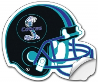 Removable Football Helmet Sticker / Decal - Vinyl UV Coated - 8.5x10.125